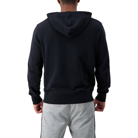 NEW BALANCE MEN'S CORE GRAPHIC FLEECE HOODY BLACK