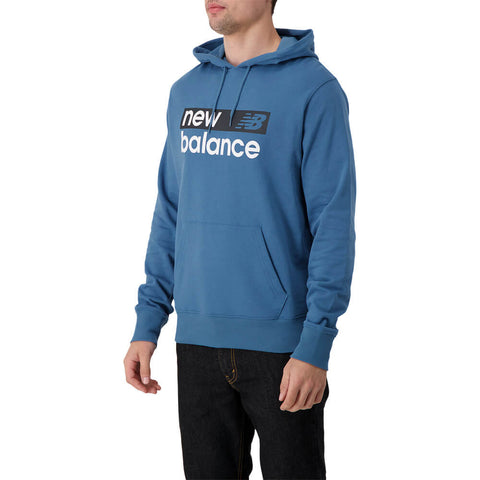 NEW BALANCE MEN'S CORE GRAPHIC FLEECE HOODY NLB