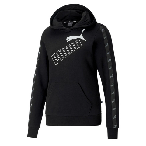 PUMA WOMEN'S AMPLIFIED HOODY BLACK