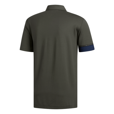 ADIDAS MEN'S ADICROSS MODAL POLO TOP GREEN