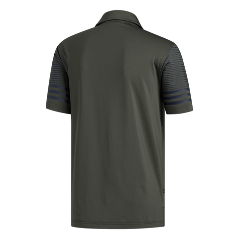ADIDAS MEN'S ULTIMATE 365 GRADIENT POLO TOP GREEN