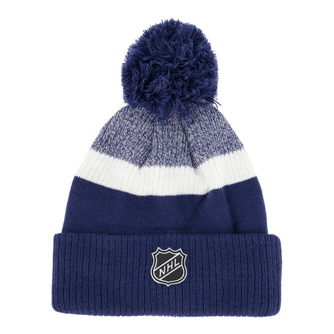 OUTERSTUFF YOUTH TORONTO MAPLE LEAFS AUTHENTIC PRO RINKSIDE CUFF POM HAT