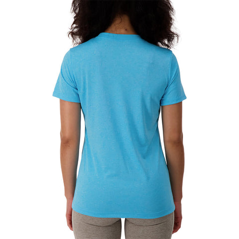 NIKE WOMEN'S NK DRY LEGEND TEE CREW BALTIC BLUE