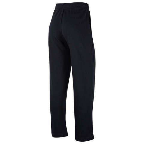 NIKE WOMEN'S NSW CLUB FLEECE PANT OPEN HEM BLACK