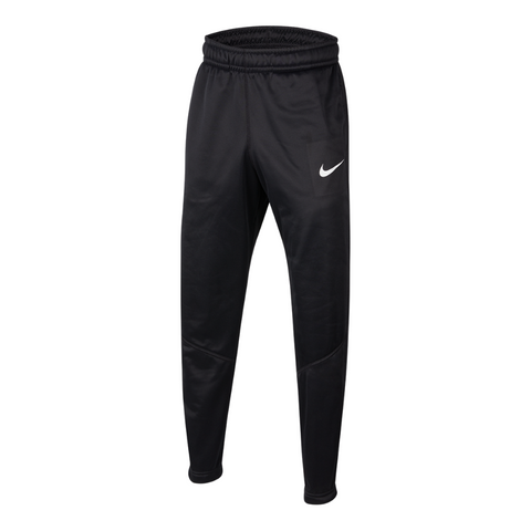 NIKE BOY'S THERMA OPEN HEM PANT BLACK