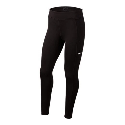 NIKE GIRL'S TROPHY TIGHT BLACK