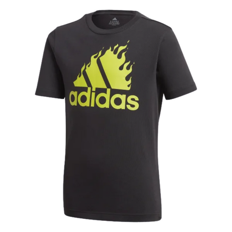 ADIDAS BOY'S BOS GRAPHIC TEE BLACK