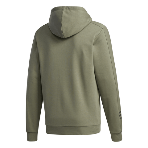 ADIDAS MEN'S COZY FLEECE HOODY LEGACY GREEN/LEGEND EARTH