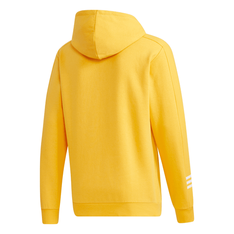 ADIDAS MEN'S COZY FLEECE HOODY ACTIVE GOLD
