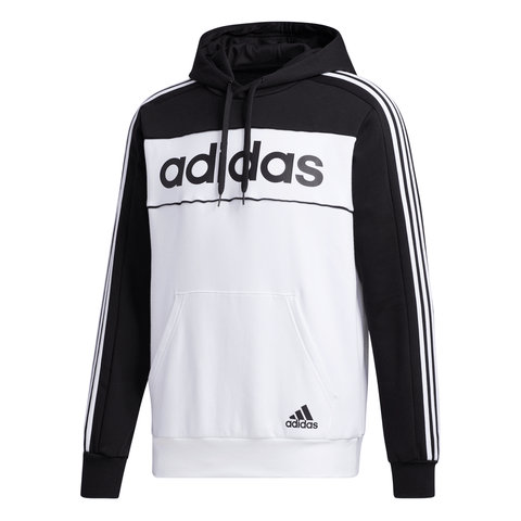 ADIDAS MEN'S CB HOODY BLACK/WHITE/BLACK