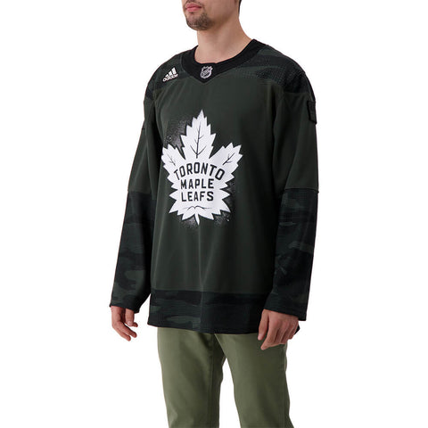 ADIDAS MEN'S TORONTO MAPLE LEAFS AUTHENTIC PRO JERSEY CAMO