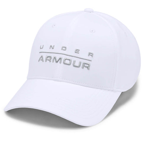 UNDER ARMOUR MEN'S WORKMARK STRETCH CAP WHITE/MOD GREY