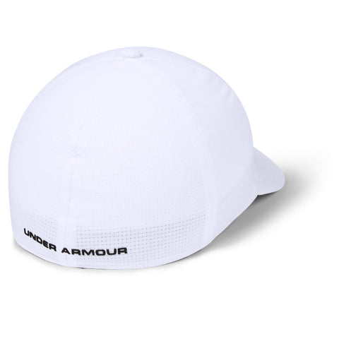 UNDER ARMOUR MEN'S AIRVENT CORE 2.0 CAP WHITE/METALLIC ORE