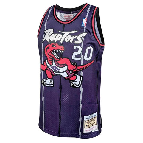 MITCHELL & NESS MEN'S TORONTO RAPTORS SWINGMAN JERSEY STOUDAMIRE PURPLE