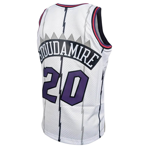 MITCHELL & NESS MEN'S TORONTO RAPTORS SWINGMAN JERSEY STOUDAMIRE WHITE