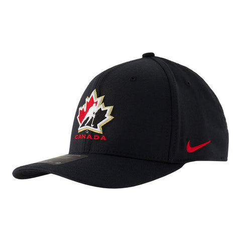 NIKE MEN'S TEAM CANADA DRIFIT SWOOSH FLEX BLACK