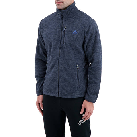 MCKINLEY MEN'S COARI III FLEECE JACKET MOOD INDIGO MELANGE
