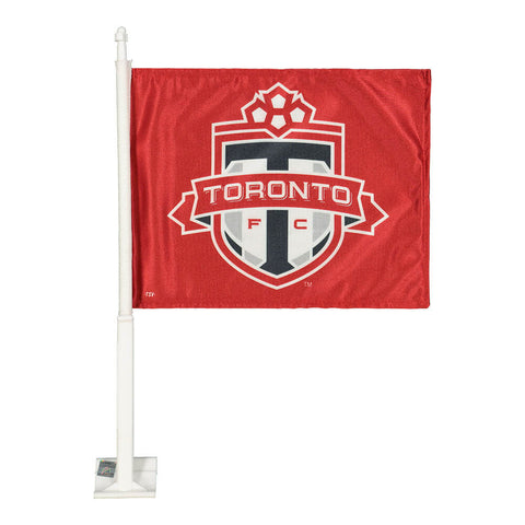THE SPORTS VAULT TFC CAR FLAG 2 SIDED