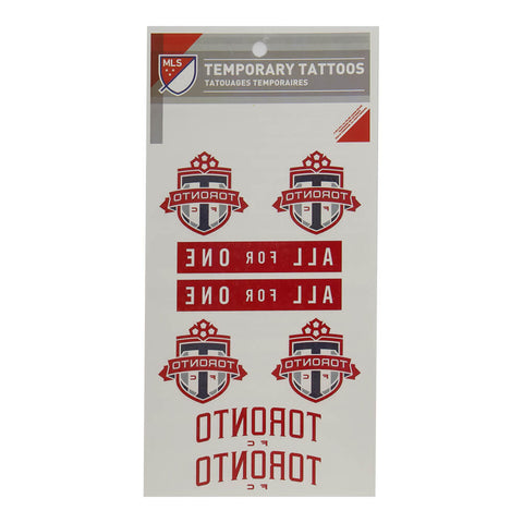 THE SPORTS VAULT TFC TATTOO SHEET