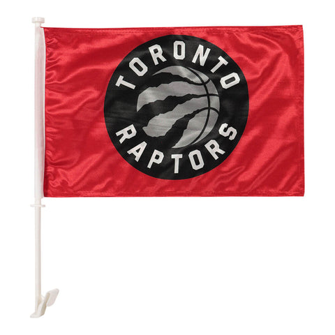 THE SPORTS VAULT TORONTO RAPTORS CAR FLAG 2 SIDED