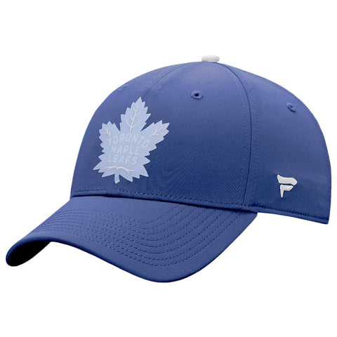 FANATICS MEN'S TORONTO MAPLE LEAFS DETAILS STRUCTURED CAP BLUE