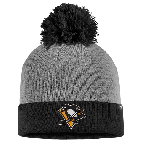 FANATICS MEN'S PITTSBURGH PENGUINS BEANIE CUFF WITH POM