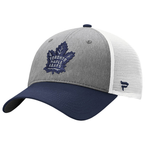 FANATICS MEN'S TORONTO MAPLE LEAFS UNSTRUCTURED ADJUSTABLE MESHBACK CAP