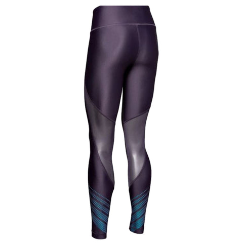 UNDER ARMOUR WOMEN'S HEATGEAR ARMOUR LEGGING OMBRE PURPLE