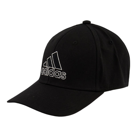 ADIDAS MEN'S PRODUCER STRETCH FIT CAP BLACK/WHITE