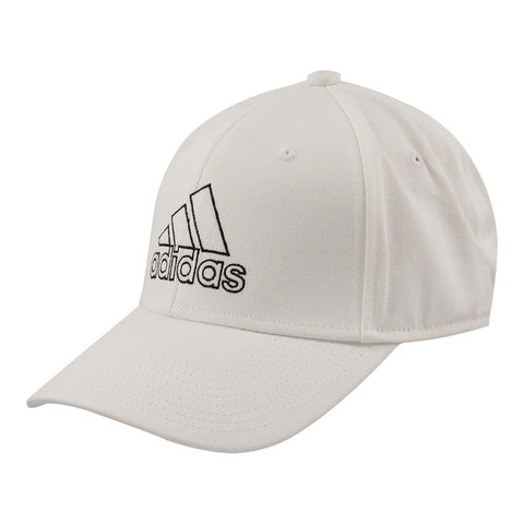 ADIDAS MEN'S PRODUCER STRETCH FIT CAP WHITE/BLACK