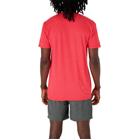 47 BRAND MEN'S TORONTO RAPTORS DEFEND THE 6IX SHORT SLEEVE TOP RED