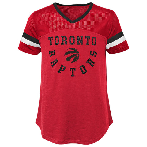 OUTERSTUFF YOUTH TORONTO RAPTORS ESSENTIAL SHORT SLEEVE FOOTBALL TOP