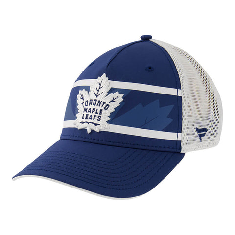 FANATICS MEN'S TORONTO MAPLE LEAFS AUTHENTIC SECOND SEASON ADJUSTABLE TRUCKER HAT