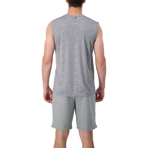 RAWLINGS MEN'S MUSCLE TOP MEDIUM GREY