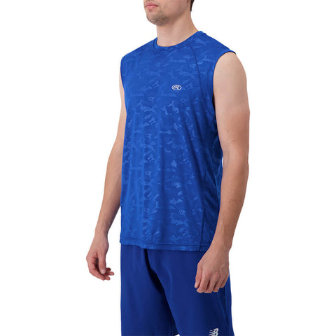 RAWLINGS MEN'S MUSCLE TOP ROYAL