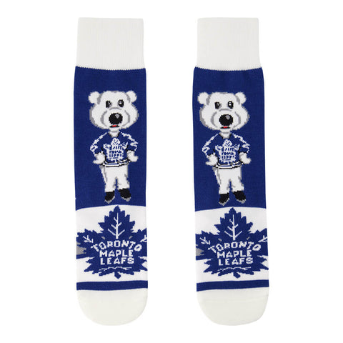FBF ORIGINALS YOUTH TORONTO MAPLE LEAFS MADNESS MASCOT SOCKS