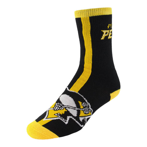 FBF ORIGINALS MEN'S PITTSBURGH PENGUINS 2 PACK SOCKS