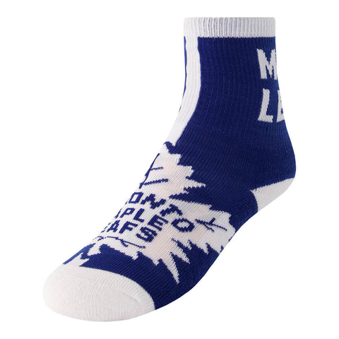 FBF ORIGINALS YOUTH TORONTO MAPLE LEAFS 2 PACK SOCKS