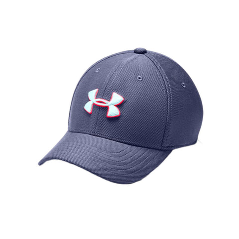 UNDER ARMOUR BOY'S UA BLITZING 3.0 CAP BLUE INK