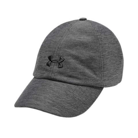 UNDER ARMOUR WOMEN'S HEATHERED PLAY UP CAP JET GRAY