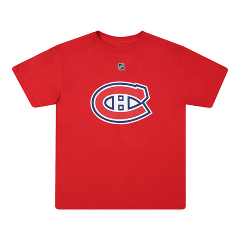 OUTERSTUFF YOUTH MONTREAL CANADIENS PRICE PLAYER SHORT SLEEVE TOP