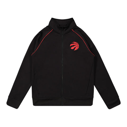 OUTERSTUFF YOUTH TORONTO RAPTORS THE SAUCE TRACK JACKET BLACK