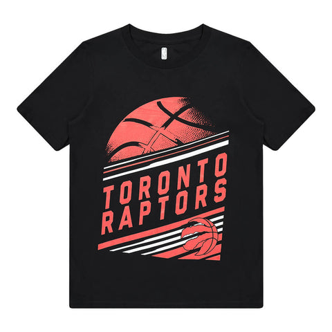 OUTERSTUFF YOUTH TORONTO RAPTORS SHOW OUT SHORT SLEEVE TOP BLACK