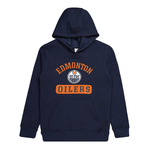 OUTERSTUFF YOUTH EDMONTON OILERS BANNER FLEECE HOODY