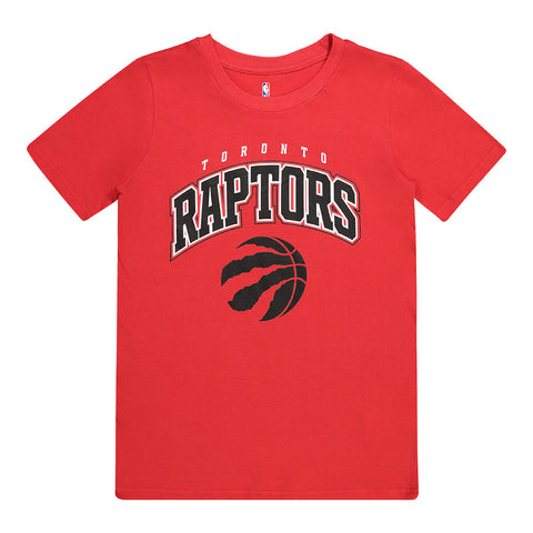 OUTERSTUFF YOUTH TORONTO RAPTORS STRIPES SHORT SLEEVE TOP RED