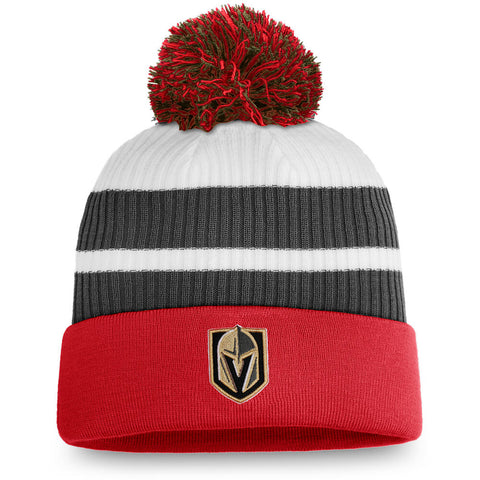 FANATICS MEN'S LAS VEGAS GOLDEN KNIGHTS SPECIAL EDITION CUFF BEANIE WITH POM