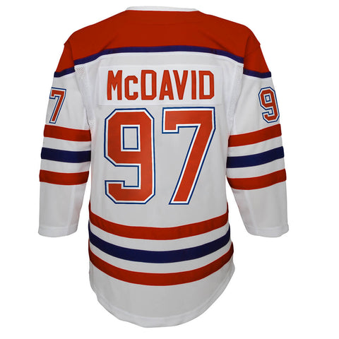 OUTERSTUFF YOUTH EDMONTON OILERS MCDAVID SPECIAL EDITION JERSEY