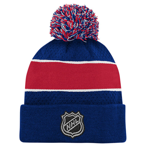 OUTERSTUFF YOUTH MONTREAL CANADIENS SPECIAL EDITION BIRDSEYE KNIT HAT WITH POM