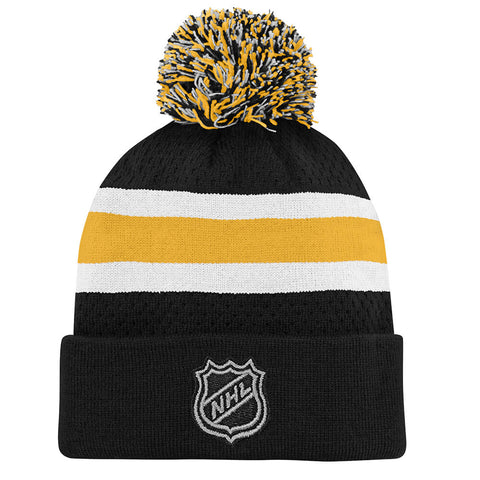 OUTERSTUFF YOUTH PITTSBURGH PENGUINS SPECIAL EDITION BIRDSEYE KNIT HAT WITH POM