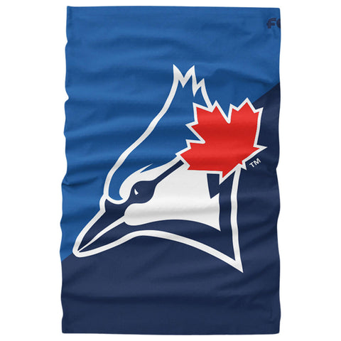 FOREVER COLLECTIBLES TORONTO BLUE JAYS BIG LOGO GAITER SCARF